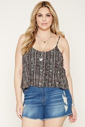 Forever 21 Plus Size Abstract Cami
