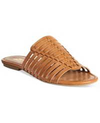 American Rag Paige Woven Flat Sandals Only At Macy's Women's Shoes Natural