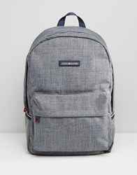 Tommy Hilfiger Logo Backpack Grey