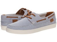 Lacoste Cauvin 3 Blue Off White Women's Flat Shoes