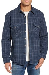 Schott Nyc Men's Plaid Shirt Jacket