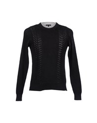 Surface To Air Crewneck Sweaters Black