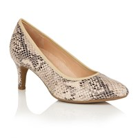 Naturalizer Oath Court Shoes Taupe