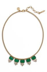 Loren Hope Women's 'Alex' Collar Necklace Emerald