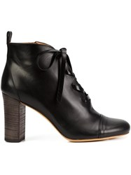 Derek Lam Lace Up Ankle Boots Black