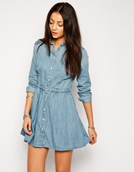 Levi's Waisted Shirt Dress Lightheritagedr