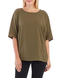 Lord And Taylor Box Top Fatigue Olive