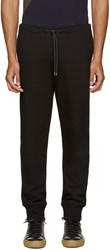 Paul Smith Black French Terry Lounge Pants