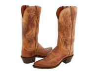 Lucchese N4540 5 4 Tan Mad Dog Goat Cowboy Boots