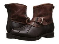 Frye Veronica Duck Engineer Espresso Multi Smooth Pull Up Oiled Vintage Women's Pull On Boots Brown
