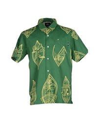 Stussy Shirts Shirts Men Green
