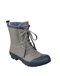 Tommy Hilfiger Renegade Rubber Boots Grey