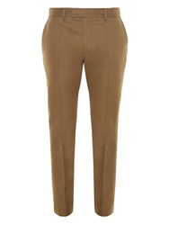 Valentino Contrast Panel Straight Leg Trousers