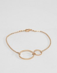 Selected Femme Moby Chain Bracelet Gold