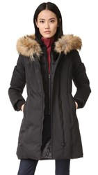 Soia And Kyo Salma Parka With Fur Black