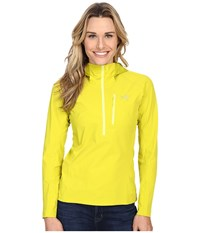 Arc'teryx Psiphon Sl Pullover Chartreuse Women's Long Sleeve Pullover Yellow