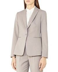 Reiss Truman Tailored Blazer Gray