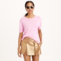 J.Crew Collection Featherweight Cashmere Pocket Tee