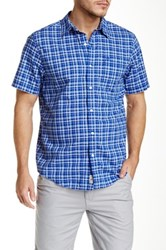 Timberland Madras Check Surf The Web Regular Fit Shirt Blue