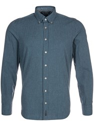 Marc O'polo Long Sleeved Shirt With Striped Pattern Blue