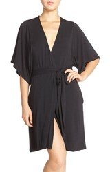 Women's Barefoot Dreams 'Luxe' Milk Jersey Robe