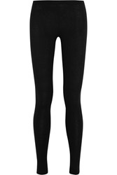 Donna Karan Cashmere Blend Leggings Black