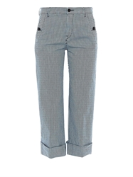 Seafarer Pacific Striped Cropped Trousers