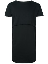 Army Of Me Layered T Shirt Black