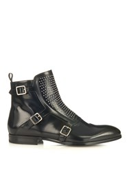 Alexander Mcqueen Studded Leather Boots