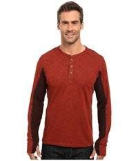 Kuhl Vanquisher Long Sleeve Shirt Brick Men's Long Sleeve Pullover Red