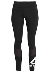 Reebok Tights Black White