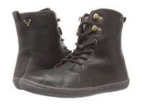 Vivobarefoot Gobi Hi Top Dark Brown Hyde Leather Women's Lace Up Boots