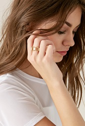 Forever 21 Haati Chai Jiban Ring Gold