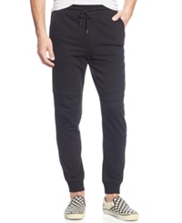 Ring Of Fire Side Stripe Jogger Pants Black