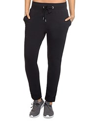 2Xist 2 X Ist Rollup French Terry Jogger Pants 100 Bloomingdale's Exclusive Black