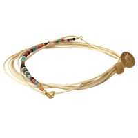 Eye Of The Sea Eleni String Bracelet Beige