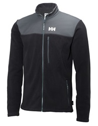 Helly Hansen Fleece Track Jacket Black