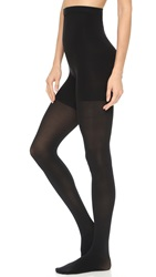 Spanx High Waisted Luxe Leg Tights Very Black
