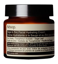 Aesop Sage And Zinc Hydrating Cream Spf 15 60Ml