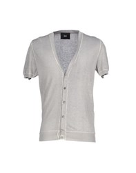Dandg Knitwear Cardigans Men Light Grey