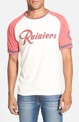 Red Jacket 'Seattle Rainiers Remote Control' T Shirt Natural
