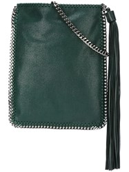 Stella Mccartney 'Falabella' Flat Crossbody Bag Green