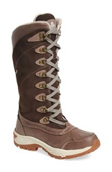 Kodiak Women's 'Rebecca' Waterproof Insulated Winter Boot Brown Leather