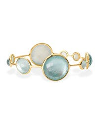 Ippolita 18K Rock Candy Lollipop Topaz And Mother Of Pearl Doublet Bangle Women's