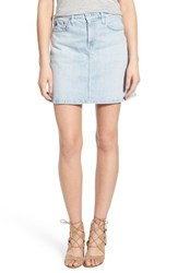 Ag Jeans Women's Ag 'Ali' A Line Denim Skirt Inviting Light Skirt