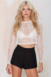 Suzette Embroidered Shorts