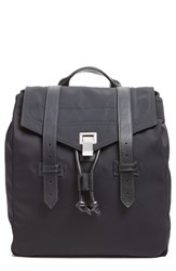Proenza Schouler 'Ps1' Nylon Backpack Black