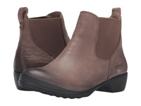 Bogs Carrie Slip On Boot Taupe Women's Waterproof Boots