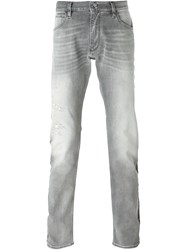 Emporio Armani Slim Fit Jeans Grey