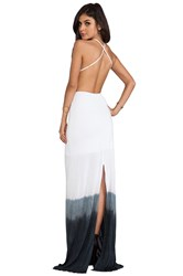 Woodleigh Sydney Dip Dye Maxi Dress Charcoal